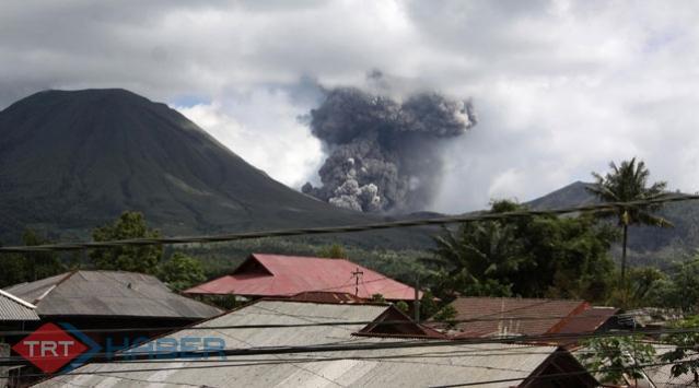 Endonezyada Yanardağ Patladı