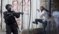 İsrail askerleri Kudüste 30 Filistinliyi yaraladı