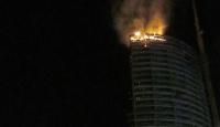 İstanbul Başakşehirde yangın