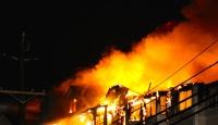 Madagaskarda yangın: 38 ölü