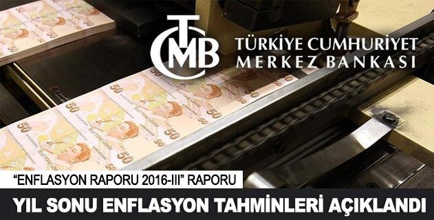 Enflasyon tahminleri açıklandı
