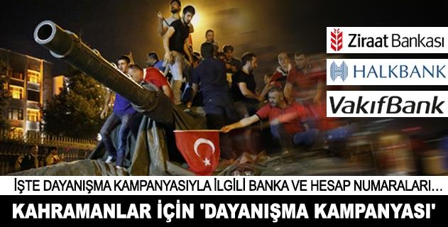 Demokrasi kahramanları için Dayanışma Kampanyası