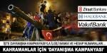 Demokrasi kahramanları için 'Dayanışma Kampanyası'