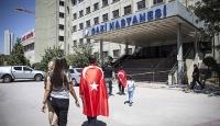 Başkentte yaralanan 143 kişinin tedavisi sürüyor
