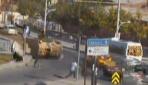 MOBESE kameralarına yansıyan zırhlı araçlar