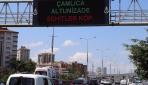 Trafik ekranlarında Boğaziçi Köprüsü'nün adı Şehitler Köprüsü olarak değiştirildi