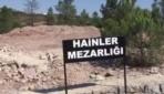 Hainler Mezarlığı'nda ilk defin yapıldı