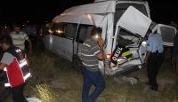Hemzemin geçitte kaza: 3 ölü, 13 yaralı