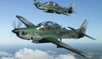 Brezilyada iki savaş uçağı havada çarpıştı