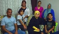 Emine Erdoğandan şehit ailesine ziyaret