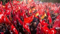 Kölnde Darbeye Karşı Demokrasi Mitingi alarmı