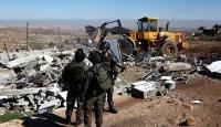 İsrail 6 ayda Filistinlilere ait 168 konutu yıktı