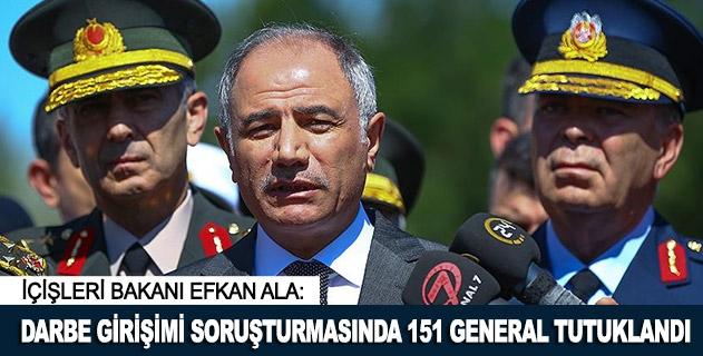 Darbe girişimi soruşturmasında 151 general tutuklandı