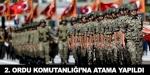 2. Ordu Komutanlığı'na yeni atama