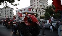 Çiftçilerden FETÖnün darbe girişimine tepki