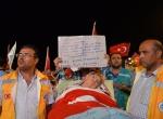 80 yaşındaki yatalak nine demokrasi nöbetinde
