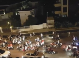 Marmariste darbeci askerler tarafından düzenlenen saldırıya ilişkin yeni görüntüler