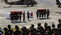 Şehit polis memurları için tören düzenlendi