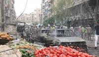 Halepte pazar yerine saldırı: 15 ölü