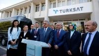 AK Parti heyetinden TÜRKSAT ve Emniyete ziyaret