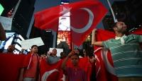 New Yorkta FETÖ elebaşı Gülen protestosu