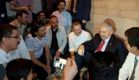 Başbakan Yıldırım vatandaşlarla bir araya geldi