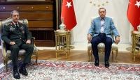 Cumhurbaşkanı Erdoğan, Akarı kabul etti