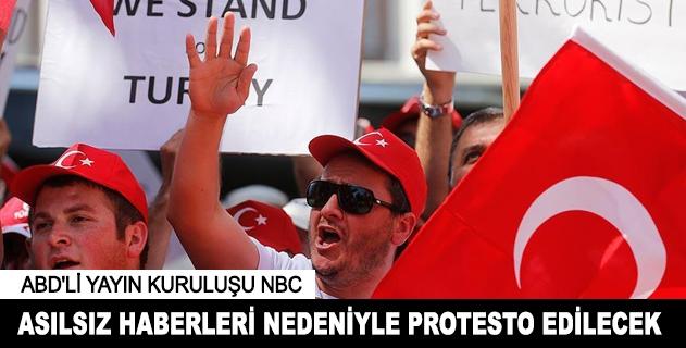 NBC çarpıtma haberleri nedeniyle protesto edilecek