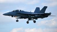 ABDde savaş uçağı çöle düştü