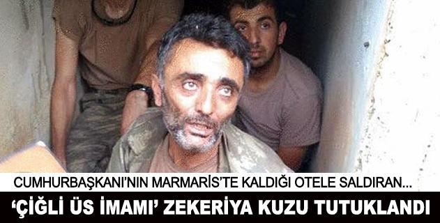 Çiğli üs imamı Zekeriya Kuzu tutuklandı