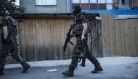 İstanbulda eş zamanlı terör örgütü operasyonu