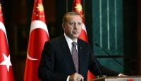 """Cumhurbaşkanı Erdoğandan şehit ailelerine """"başsağlığı"""" telgrafı"""