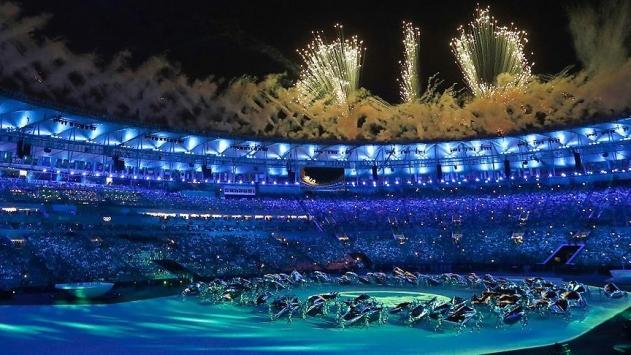 2016 Rio Olimpiyat Oyunlari Basladi