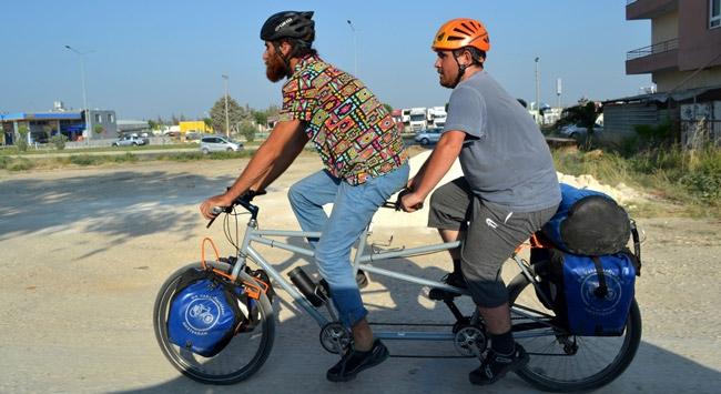 Engellilerin düşleri pedalle gerçeğe dönüştü
