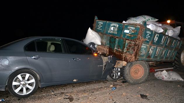 Kahramanmaraş'ta 2 ayrı trafik kazası: 14 yaralı