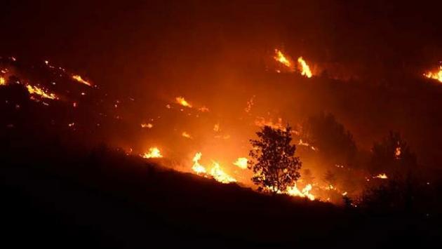 Fransanın güneyi yanıyor