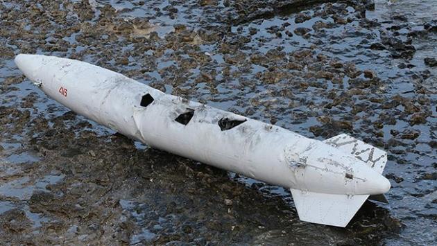 Kandıra sahilinde bulunan cismin yakıt deposu olduğu anlaşıldı