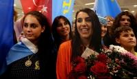Jamala konser için İstanbula geldi