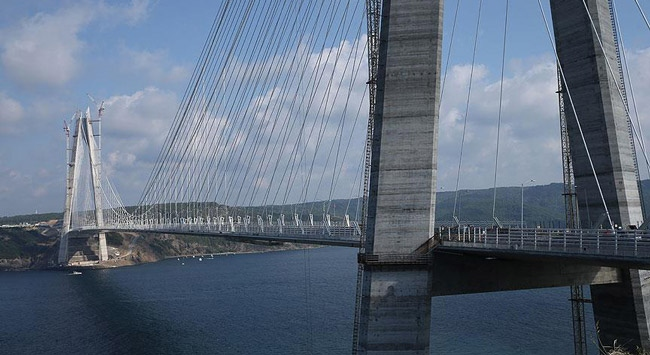 Yavuz Sultan Selim Köprüsünün geçiş ücreti belli oldu