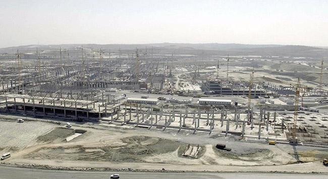 İstanbul Yeni Havalimanının yüzde 30u tamamlandı