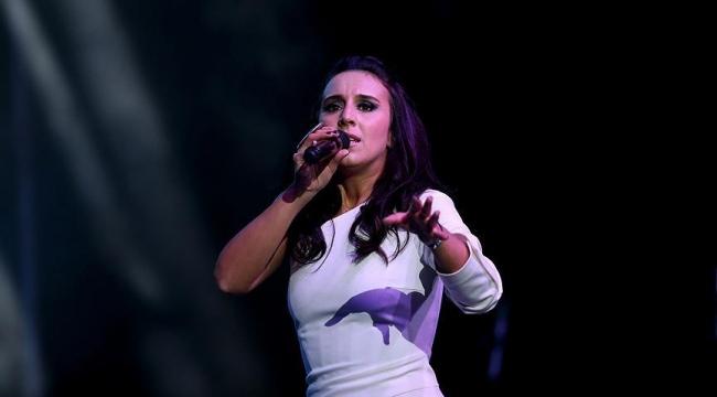 Kırımlı Tatar sanatçı Jamala İstanbulda konser verdi
