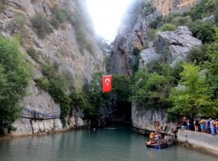 Çamlıyayla'da Kisecik kanyonu