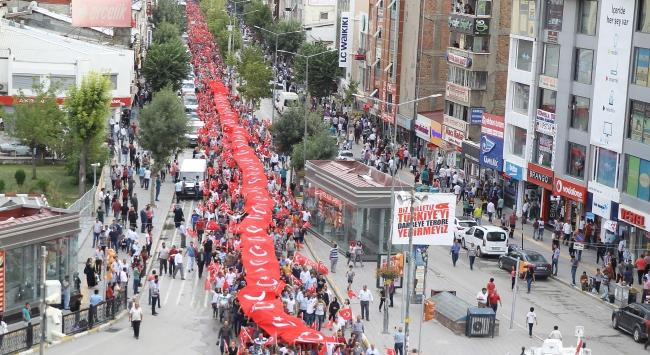 Vanda terör saldırıları protesto edildi