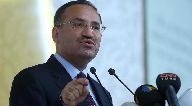 Bakan Bozdağdan terörle mücadelede kararlılık vurgusu