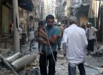 Halepte hava saldırısı: 14 ölü