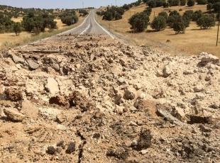 Mardinde yola döşenmiş patlayıcı bulundu