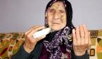 Yaşlı kadının parmağını kırarak yüzüğünü ve küpelerini gasbeden zanlı yakalandı