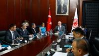 TBMM Başkanı Kahraman, Moldovadan gelen heyeti kabul etti