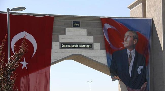 """Niğde Üniversitesine """"Ömer Halisdemir Üniversitesi"""" adı verildi"""