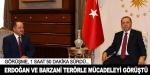 Cumhurbaşkanı Erdoğan, Mesut Barzani'yi kabul etti